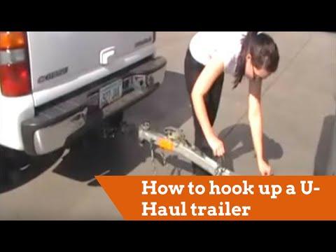 How to hook up a U-Haul trailer